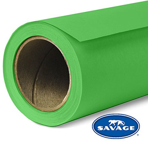 Savage Seamless Background Paper - #46 Tech Green (53 in x 18 ft)