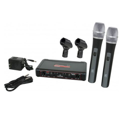 Galaxy Audio Dual Channel (UHF) EDX Wireless Handheld Microphone System