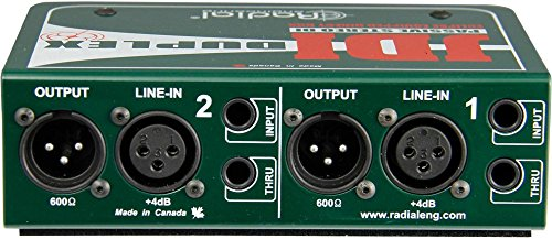 Radial JDI Duplex mk4 Stereo Direct Box …