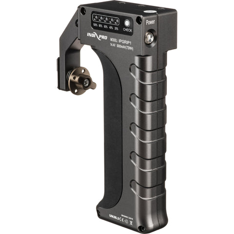 IndiPRO Tools Universal Power Grip for Devices with BMPCC 6K and 4K Battery (Gray)