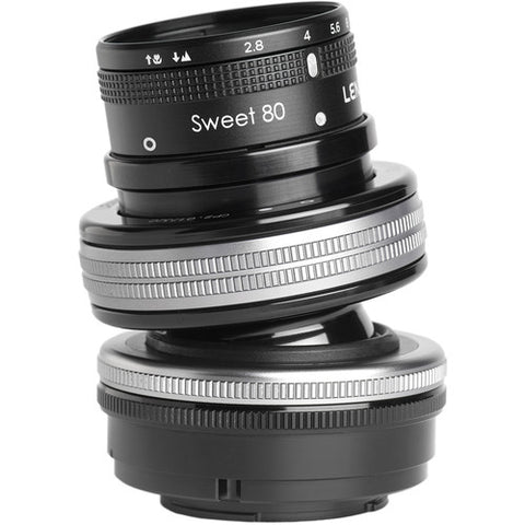 Lensbaby Composer Pro II with Sweet 80 for Pentax K