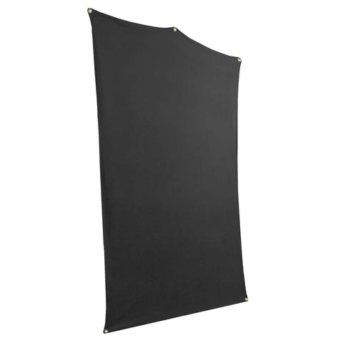 Savage 5x7' Black Background Backdrop Travel