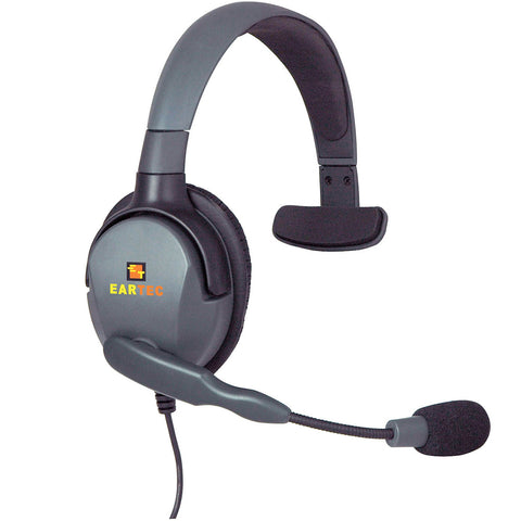 Eartec Max 4G Single Headset with Dual 3.5-2.5mm Connectors