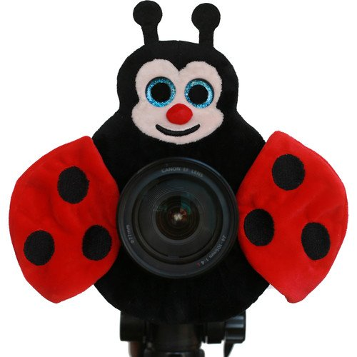 Camera Creatures Lovable Ladybug Posing Prop