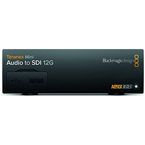 Blackmagic Design Teranex Mini Audio to SDI 12G Converter