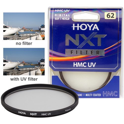 Hoya 62mm NXT HMC UV Multi Coated Slim Frame Glass Filter