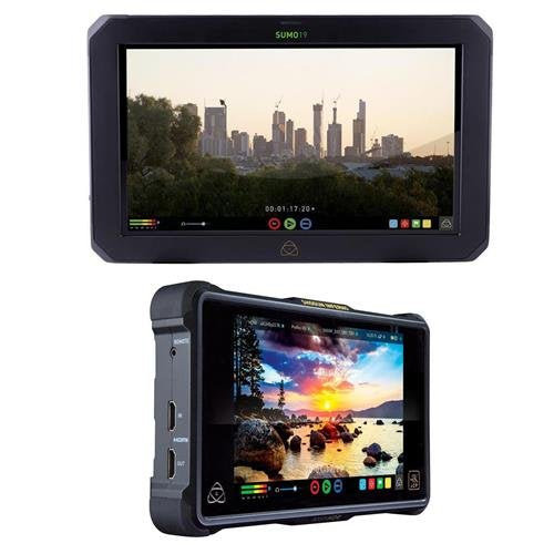 "Atomos Sumo 19"" Touchscreen On-Set and In-Studio 4K HDR Monitor Recorder, 1920x1200 - With Atomos Shogun Inferno All-in-One Monitor Recorder"
