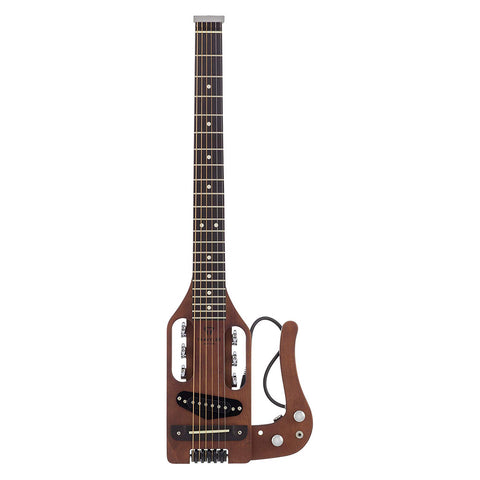 Traveler Guitar PS ABNS 6 String Pro-Series (Antique Brown), Right