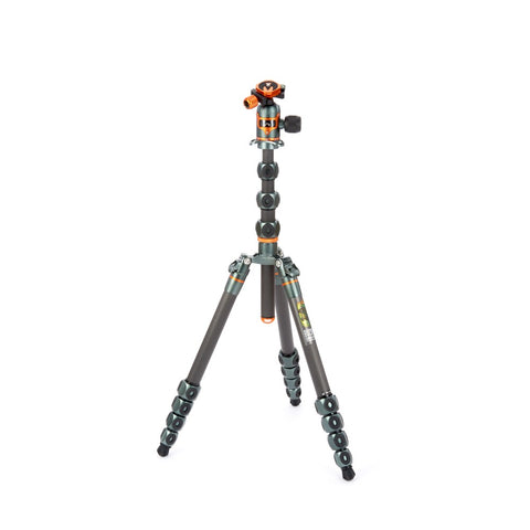 3 Legged Thing Legends Bucky Tripod System with AirHed Vu - Grey