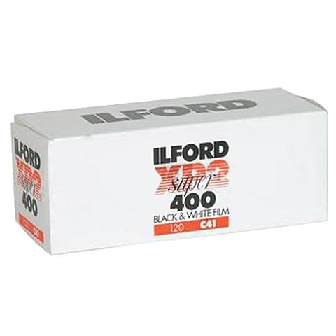 Ilford XP2 Super Black and White Negative Film (120 Roll Film)