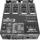 CHAUVET DJ DMX-4LED 4-Channel Dimmer Pack