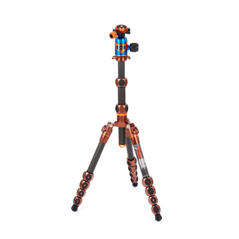3 Legged Thing Legends Ray Tripod System with AirHed Vu - Bronze/Blue