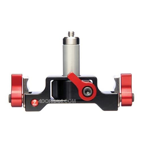 "Zacuto 1/4 20"" Lens Support with 2.5"" Rod"