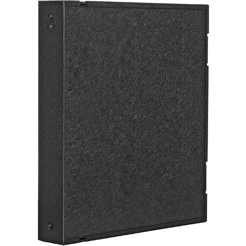 Archival Safe-T-Binder with Rings, Black