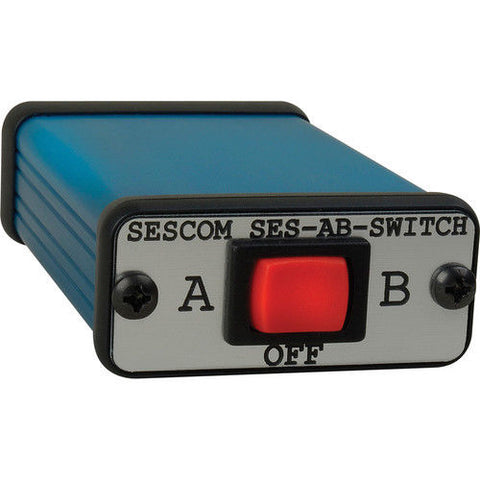 Sescom SES-AB-SWITCH iPod/MP3 Player 3.5mm Stereo Audio A/B Switch