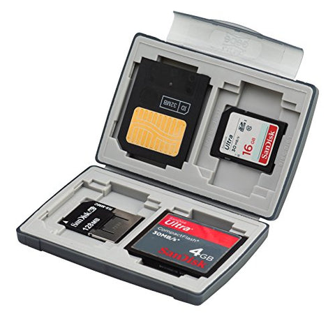 Gepe Card Safe Basic - Case for memory cards - onyx