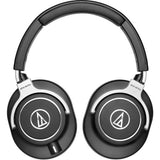 Audio-Technica ATH-M70x Pro Monitor Headphones with Headphone Stand & Extension Cable 10'