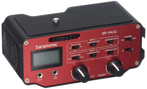 Saramonic Universal Audio Adapter for DSLR Camera