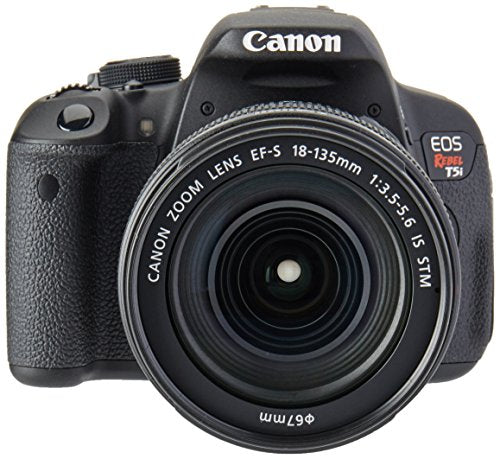 Canon EOS Rebel T5i DSLR Camera with EF-S 18-135mm f/3.5-5.6 IS STM Lens