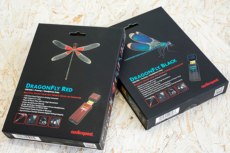 AudioQuest - Dragonfly Black USB DAC/Headphone Amplifier