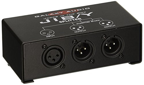 Galaxy Audio JIBY Jacks In The Box Microphone Splitter