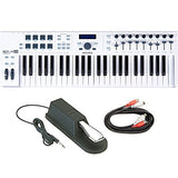 Arturia KeyLab 49 Essential Universal MIDI Controller, Software and Pedal