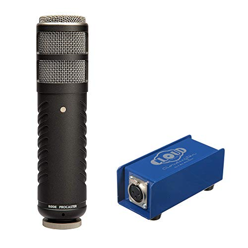 Rode Procaster Broadcast Quality Dynamic Microphone with CL-1 Cloudlifter Mic Activator