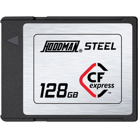 Hoodman 128GB Steel CFexpress Memory Card