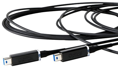 Corning 5.5m (18') Thunderbolt Active Optical Cable for Self-Powered Peripherals