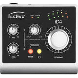 Audient iD4 High-Performance USB Audio Interface with R100 Stereo Headphones and XLR-XLR Cable