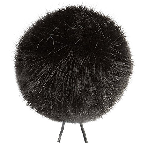 Bubblebee Industries Windbubble Miniature Imitation-Fur Windscreen - Black