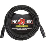 Pig Hog XLR 25 Foot Tour Grade Microphone Cables (3-Pack)