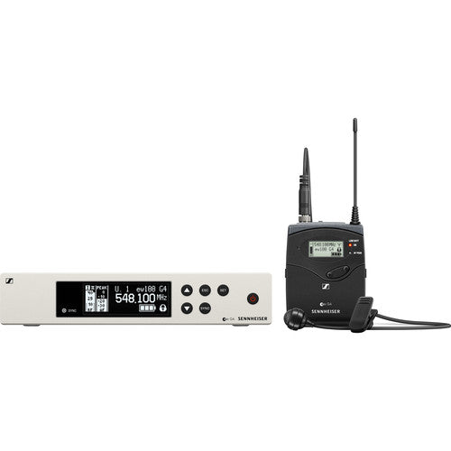 Sennheiser ew 100 G4-ME 4 Wireless Bodypack System with ME 4 Cardioid Lavalier Microphone (A: (516 to 558 MHz))