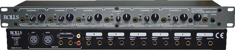 Rolls 6-Channel Headphone Amplifier RORA62C