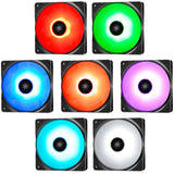 Deepcool RF 120 RGB LED 120mm PWM Fan (3-Pack)