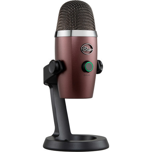 Blue Yeti Nano Multi-Pattern USB Condenser Microphone (Red Onyx)