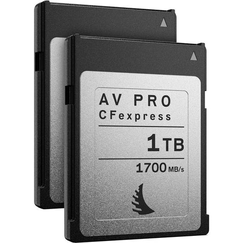 Angelbird 1TB AV Pro CFexpress 2.0 Type B Memory Card (2-Pack)