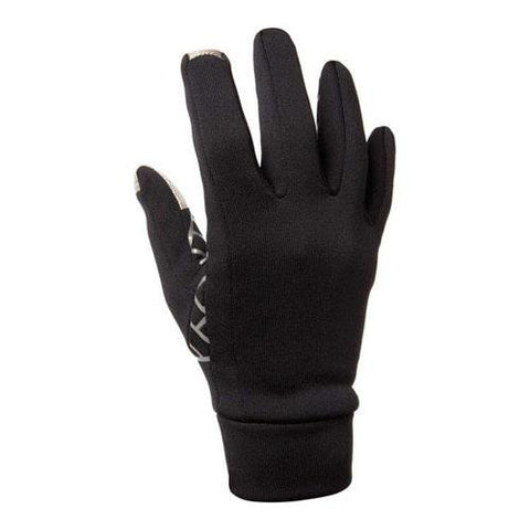Freehands Unisex Power Stretch Gloves Medium/Large, Black
