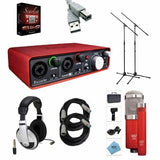 Focusrite Scarlett 2i4 2nd Gen Audio Interface - Bundle FOS2I4USBKIT1