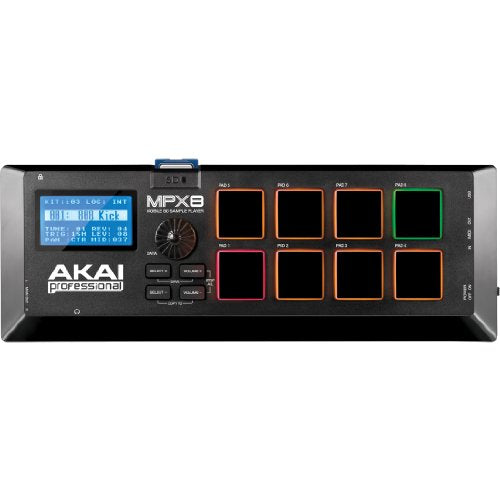 Akai Professional MPX8 | 8-Pad Sample Player with SD Card Slot