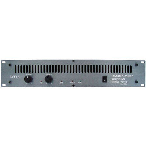 Rolls RA2100b Stereo Power Amplifier - 70W per Channel into 8 Ohms