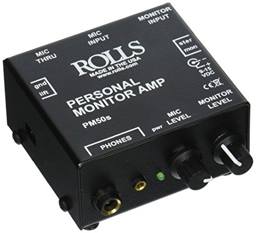 Rolls PM50s - Personal Monitor Amplifier