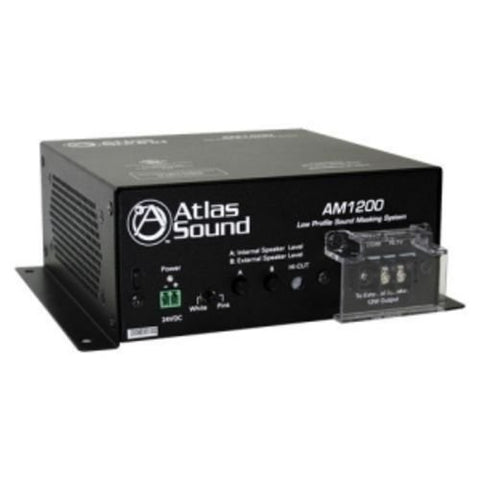 Atlas Sound AM1200 Low Profile Sound Masking System UL2043