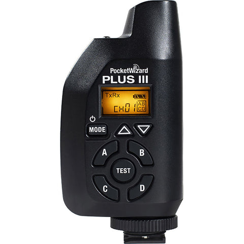 PocketWizard Plus IIIe Radio Trigger with Enhanced Range and Reliability for Remote Photography and Off Camera Flash (Black)