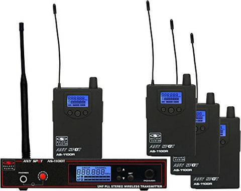 Galaxy Any Spot AS-1100-4 Band Pack System - D-Band