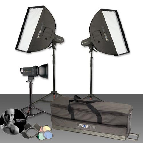 Photo Basics 231 Strobelite Plus Three Light Kit