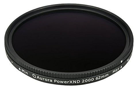Aurora Aperture PXND2K-62 PowerXND 2000 Variable ND Filter Fader, 62 mm