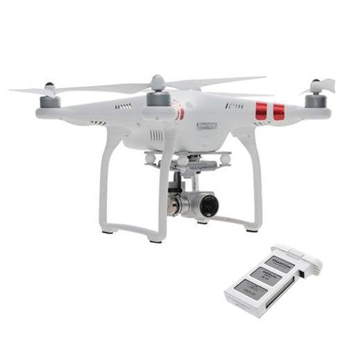 DJI Phantom 3 Standard Quadcopter Aircraft w/ 3-Axis Gimbal and 2.7k Camera w/ Remote Controller