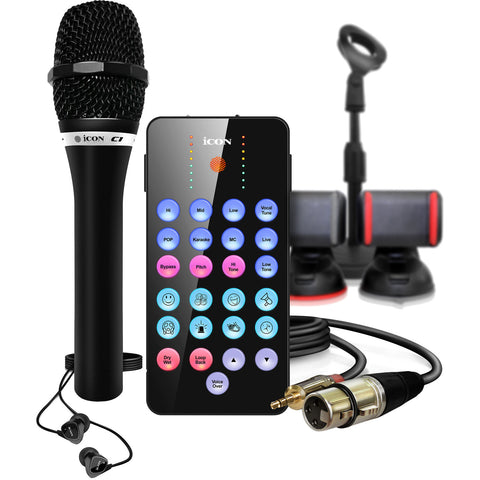 Icon Pro Audio LivePod Plus Bundle Complete Livestreaming Toolkit