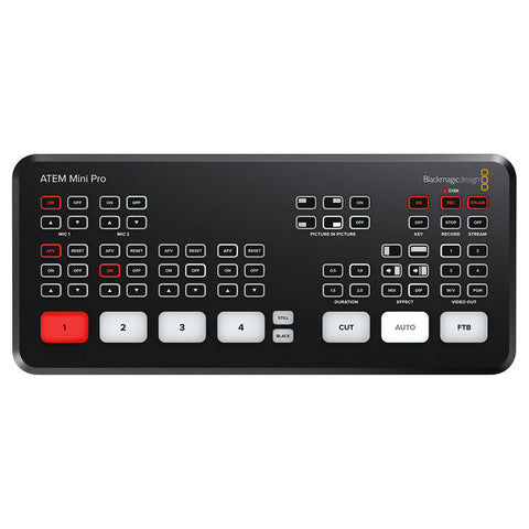 Blackmagic Design ATEM Mini Pro HDMI Live Stream Switcher